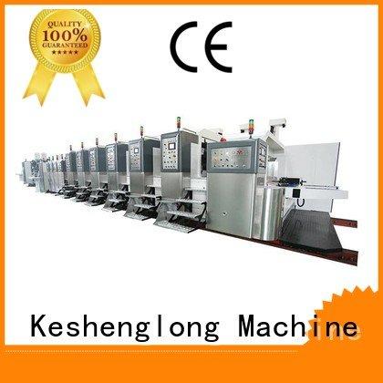control flat top KeShengLong HD flexo printer slotter