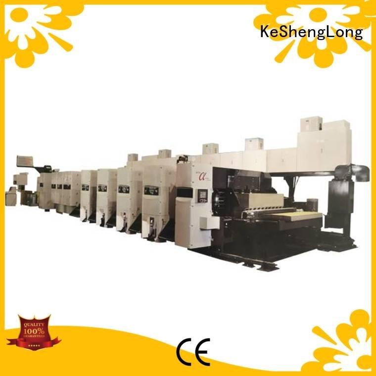 Wholesale slotter 4 color flexo printer slotter machine KeShengLong Brand