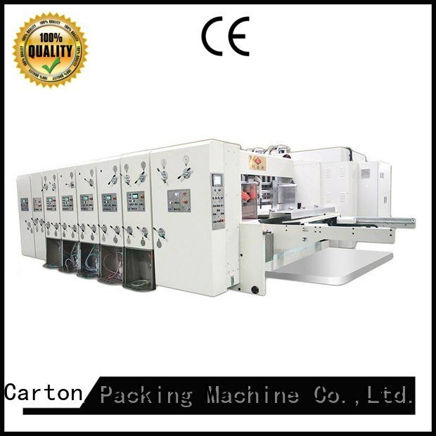 flexo printing and die cutting machine printing automatic printing slotting die cutting machine four color KeShengLong