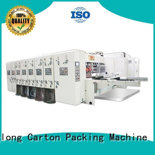 KeShengLong Brand flexo four color machine automatic printing slotting die cutting machine