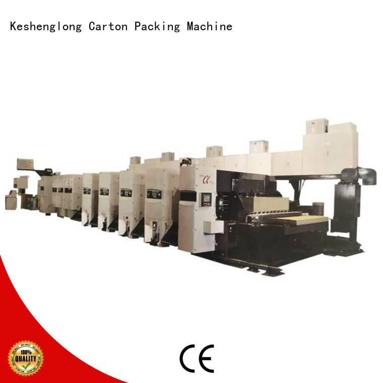 printer diecutter KeShengLong flexo printer slotter