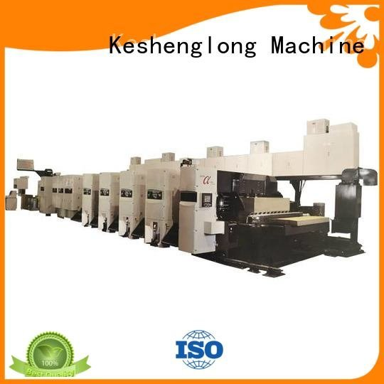 flexo printer slotter 4 color KeShengLong Brand flexo printer slotter machine