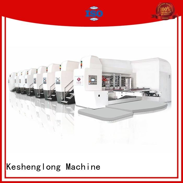 KeShengLong China hd flexo diecutting gluing flat goutering