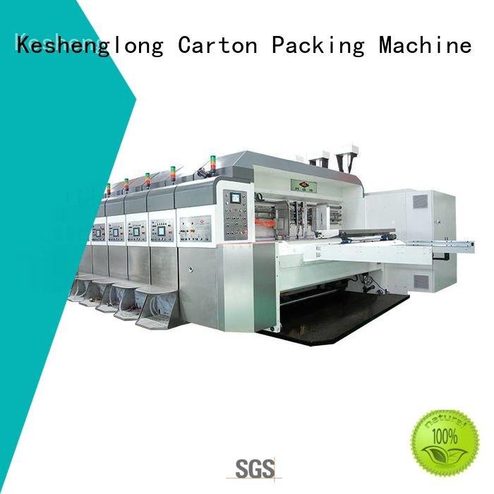 China hd flexo computerized folding KeShengLong Brand