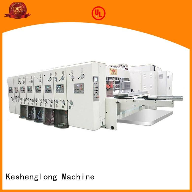 KeShengLong slotting flexo automatic flexo printing and die cutting machine die
