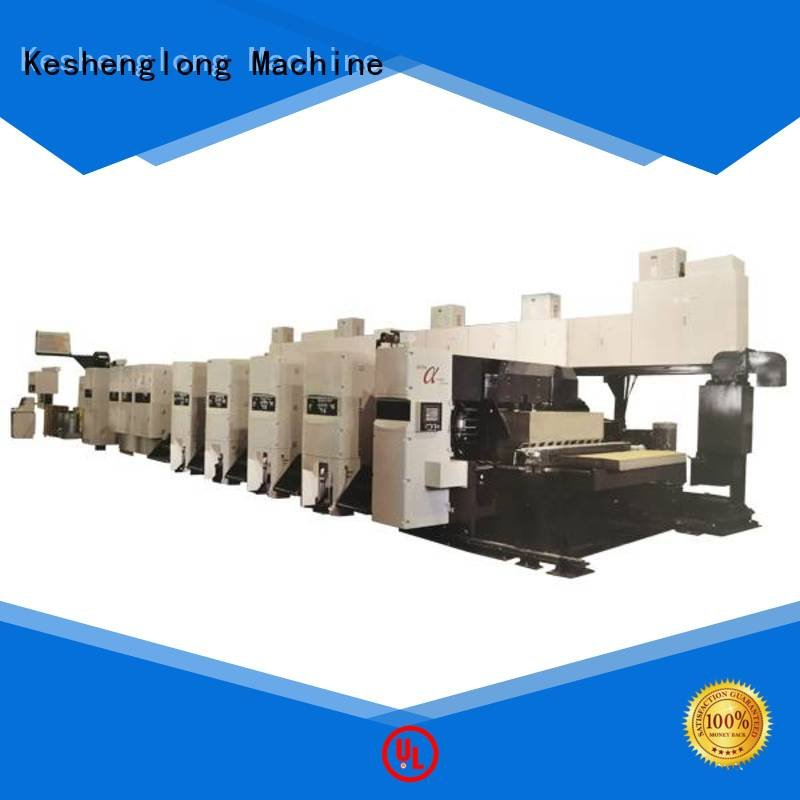 Wholesale gluer shinko flexo printer slotter machine KeShengLong Brand