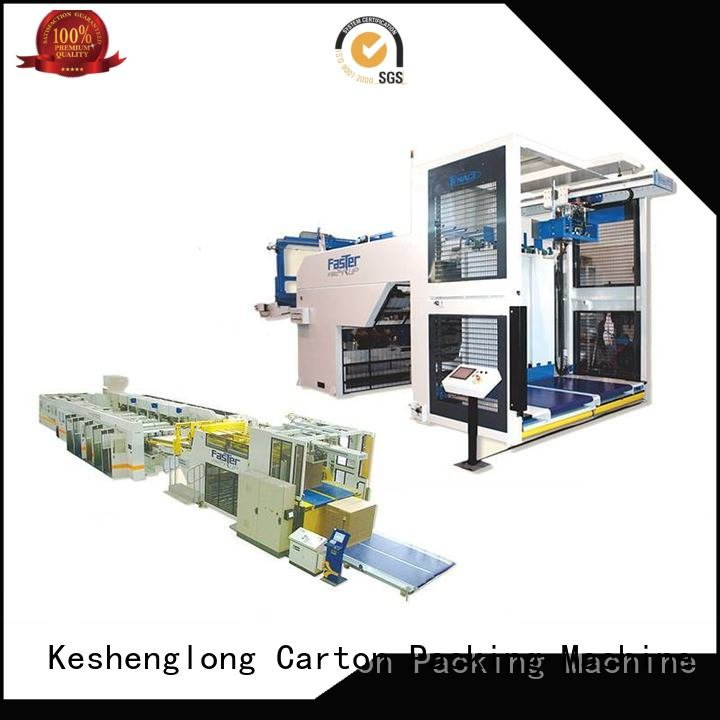 cardboard box printing machine three color cardboard box printing machine PFA KeShengLong