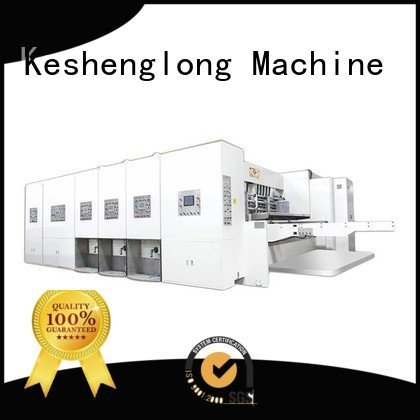 six color cutting slotting flexo printing and die cutting machine KeShengLong