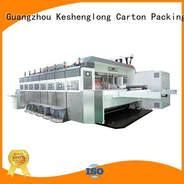 Custom HD flexo printer slotter ejecting structure automatic KeShengLong