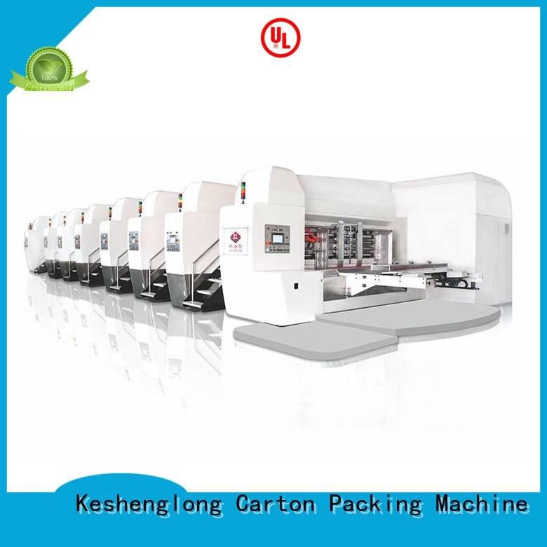 China hd flexo flexo gluing HD flexo printer slotter KeShengLong Brand