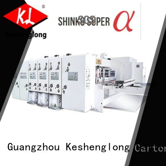 flexo printing and die cutting machine four color cutting three color flexo
