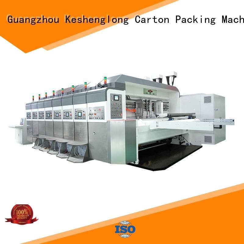 slotting gluing K9-Type inline KeShengLong China hd flexo