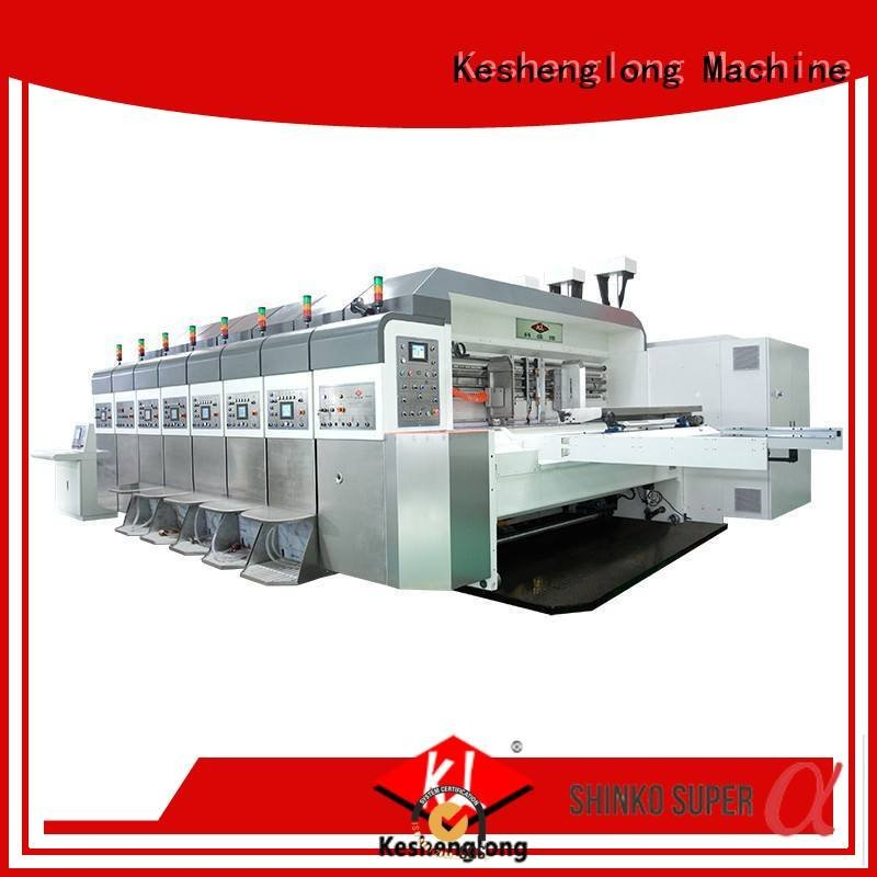 automatic K8-Type ejecting HD flexo printer slotter KeShengLong
