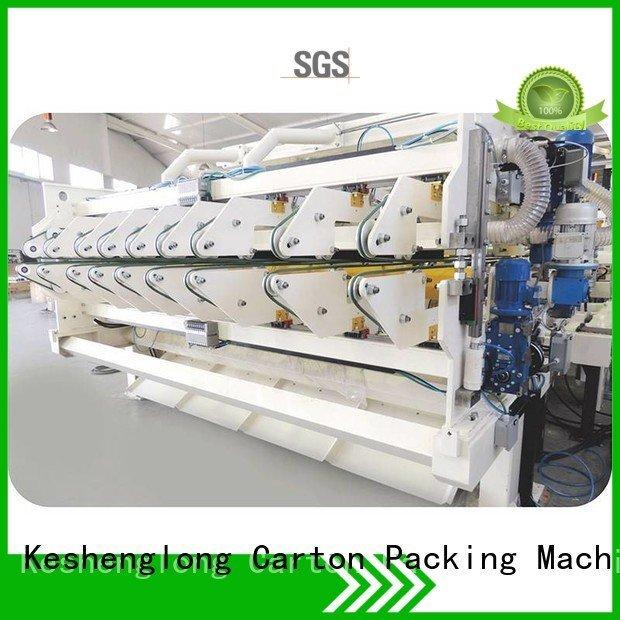 four color six color cardboard box printing machine three color KeShengLong