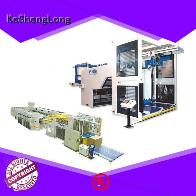 cardboard box printing machine six color Top four color KeShengLong