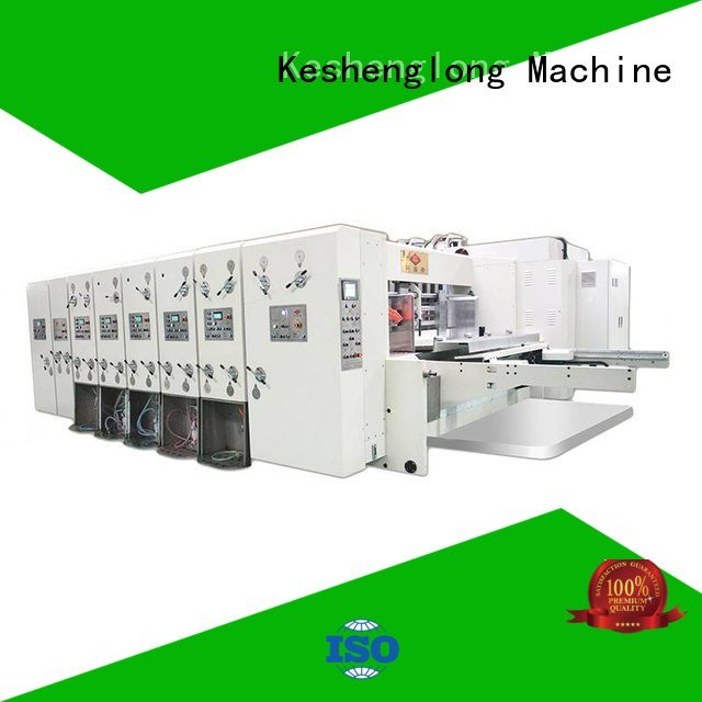 Wholesale three color cutting automatic printing slotting die cutting machine KeShengLong Brand