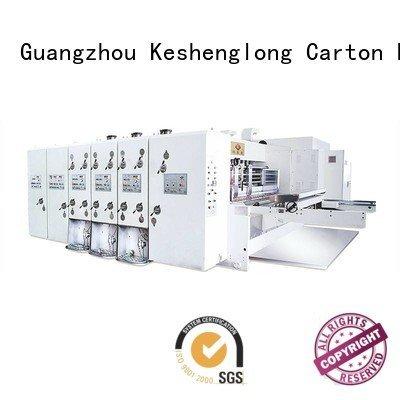 k3 automatic cutting k4 KeShengLong automatic printing slotting die cutting machine