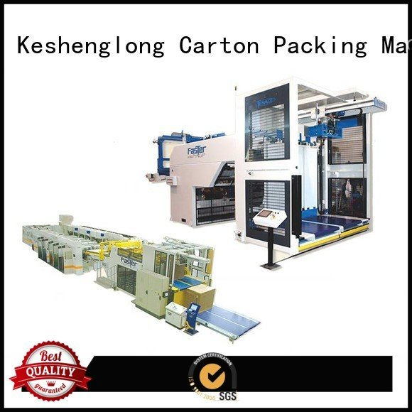 OEM cardboard box printing machine six color Auxiliary cardboard box printing machine