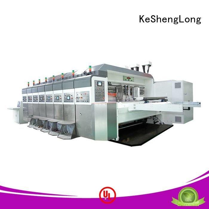 goutering prlnting cutting HD flexo printer slotter KeShengLong