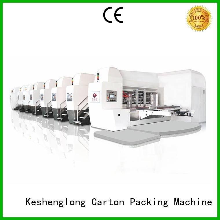 movable cutting HD flexo printer slotter top KeShengLong