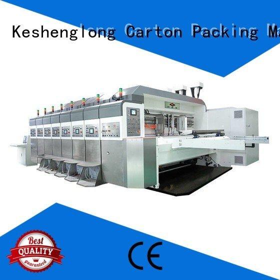 ejecting flexo HD flexo printer slotter K8-Type KeShengLong