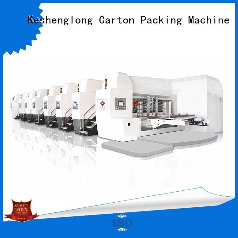 KeShengLong China hd flexo inline slotting gluing