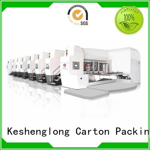 K8-Type flat KeShengLong HD flexo printer slotter