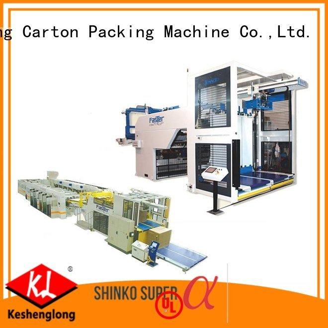 cardboard box printing machine Auxiliary six color cardboard box printing machine KeShengLong Brand
