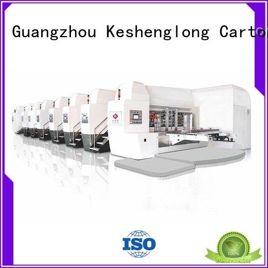 China hd flexo goutering gluing HD flexo printer slotter KeShengLong Brand