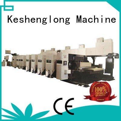 In-line 6 color Folder flexo printer slotter machine KeShengLong