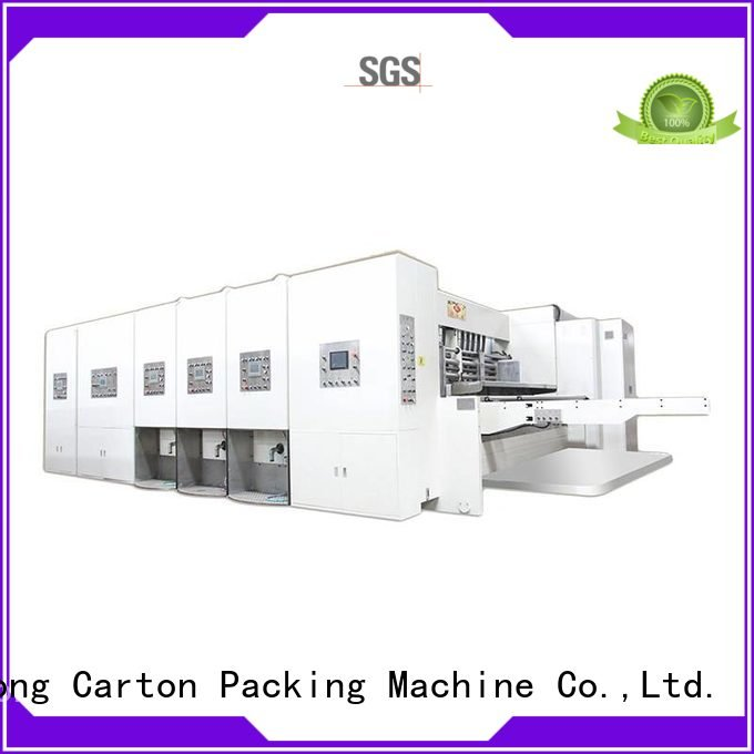 KeShengLong Brand automatic four color flexo flexo printing and die cutting machine