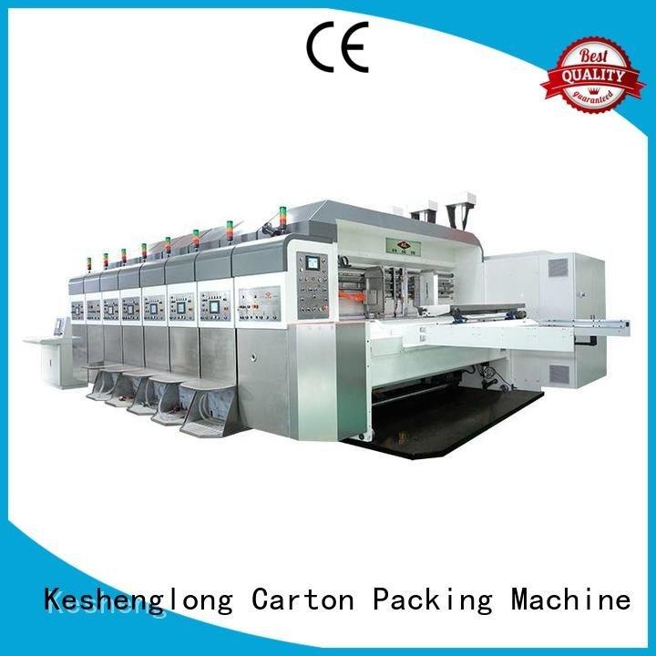 China hd flexo flat K8-Type HD flexo printer slotter KeShengLong Warranty