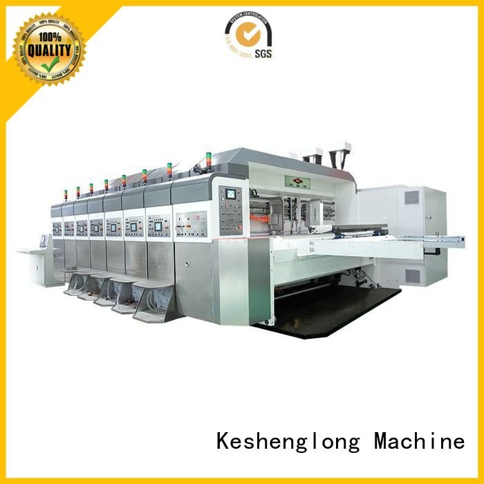 China hd flexo gluing inline movable die