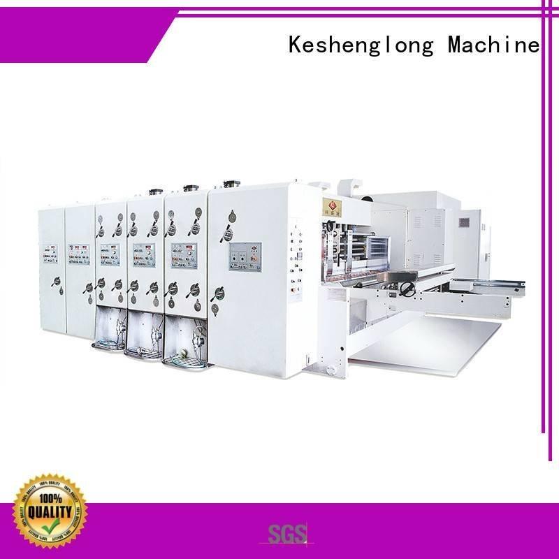 four color jumbo KeShengLong automatic printing slotting die cutting machine