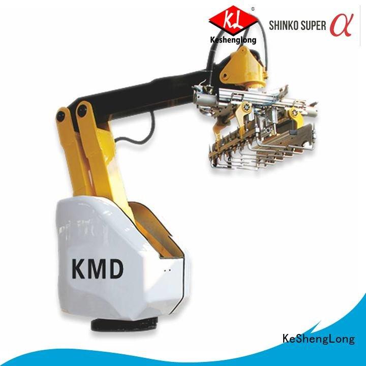 KeShengLong pe1280 cardboard box printing machine stacker stripper