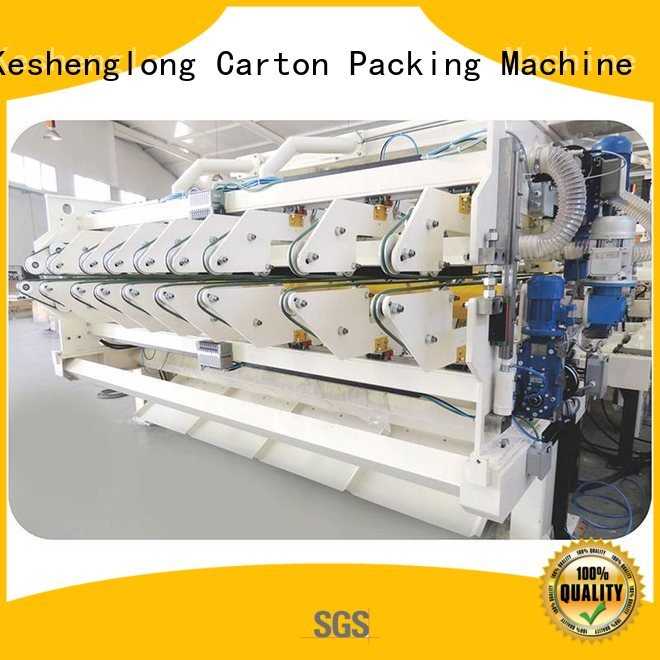 Hot cardboard box printing machine three color four color Top KeShengLong Brand