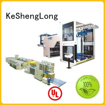 KeShengLong Brand six color Top Auxiliary cardboard box printing machine three color