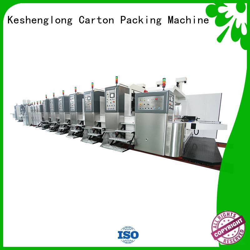 die K9-Type HD flexo printer slotter automatic KeShengLong