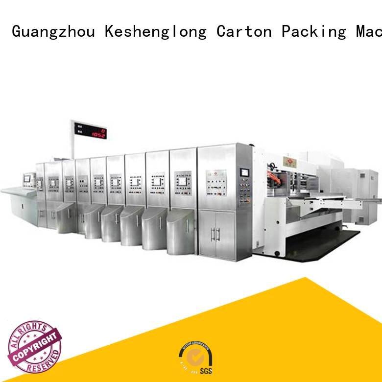 Hot China hd flexo inline die automatic KeShengLong Brand