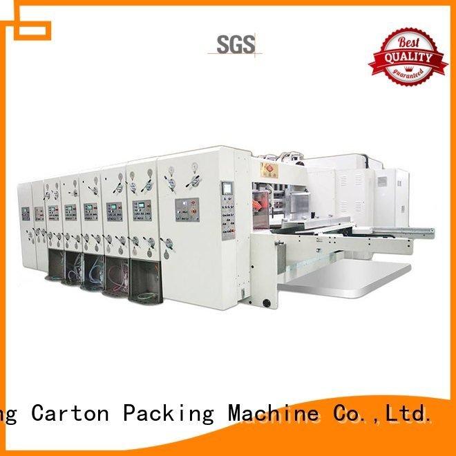 cutting six color die KeShengLong automatic printing slotting die cutting machine