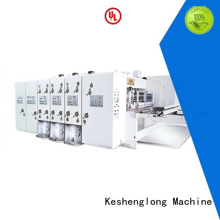 KeShengLong flexo printing and die cutting machine computerized k3 k4