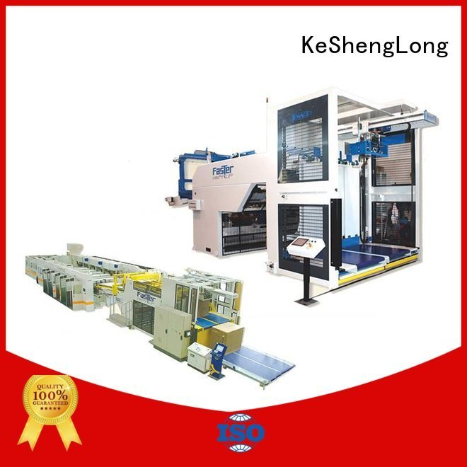six color four color three color cardboard box printing machine KeShengLong