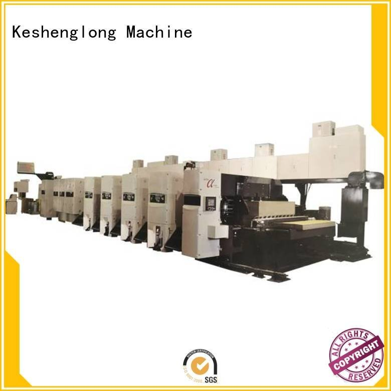 KeShengLong inline shinko folder flexo printer slotter gluer