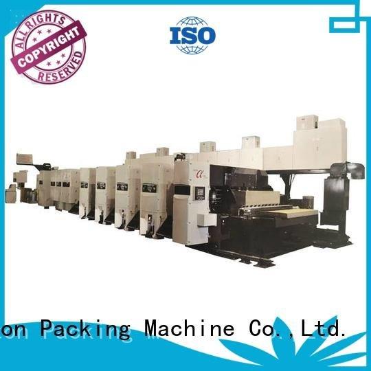 4 color Carton flexo printer slotter KeShengLong
