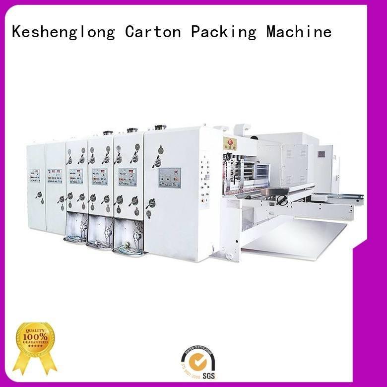 computerized automatic printing slotting die cutting machine cutting die KeShengLong