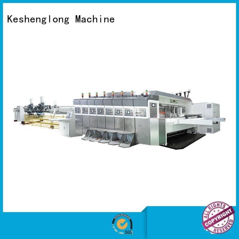 China hd flexo top flexo HD flexo printer slotter KeShengLong Brand