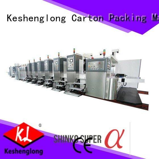 K8-Type diecutting HD flexo printer slotter control KeShengLong