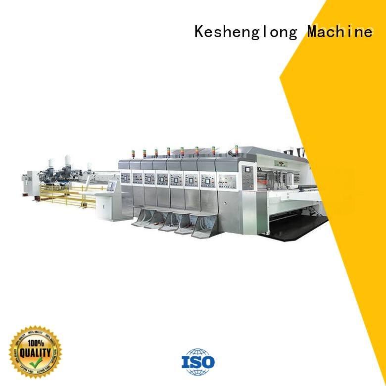 China hd flexo folding HD flexo printer slotter ejecting KeShengLong