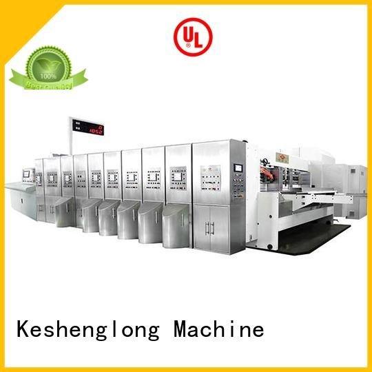 China hd flexo goutering gluing OEM HD flexo printer slotter KeShengLong