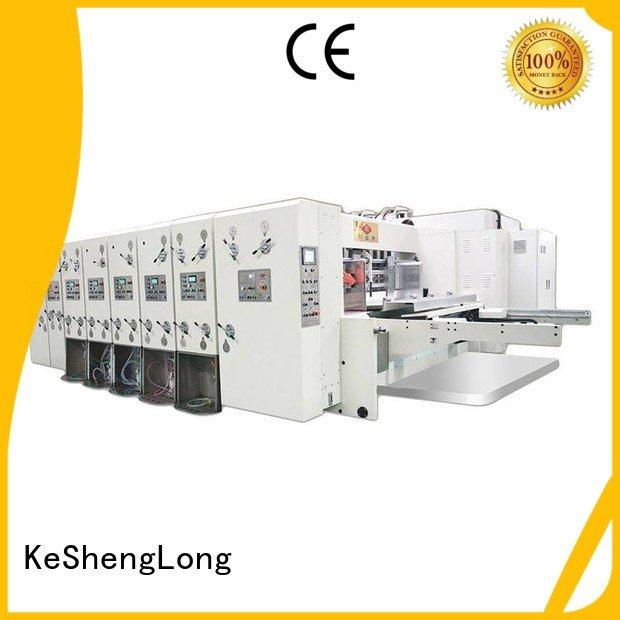 Custom jumbo automatic printing slotting die cutting machine cutting flexo printing and die cutting machine